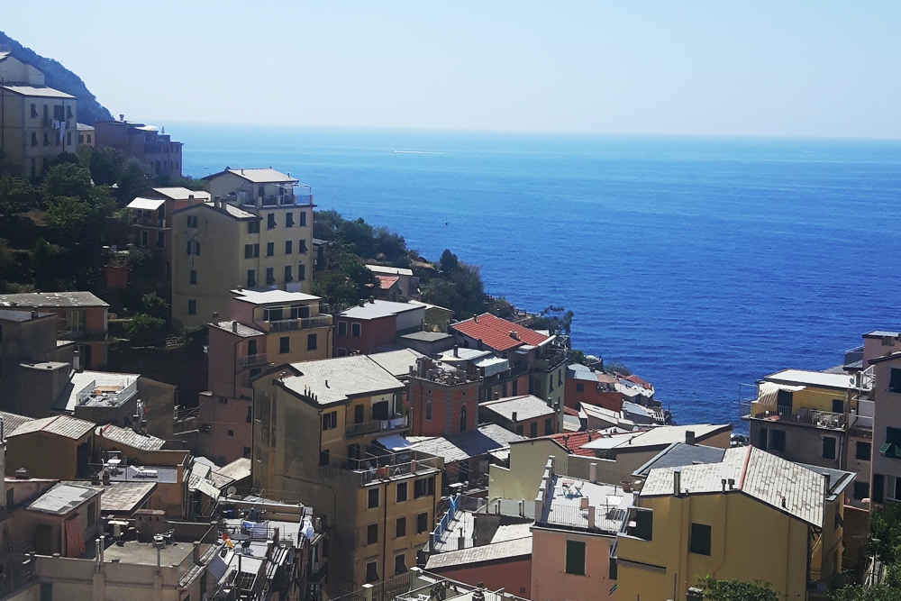 Vista dal terrazzo